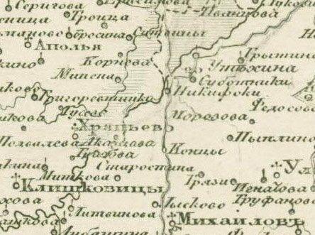 Образец карты